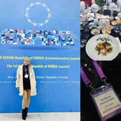 Z-Girls Vanya Shines as Official Guest at ASEAN-Republic of Korea Commemorative Summit